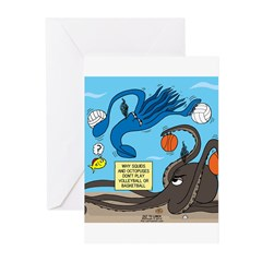 Squid Ball Greeting Cards (Pk of 10)