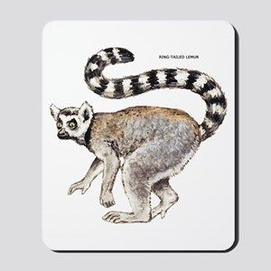 Ring-Tailed Lemur Mousepad