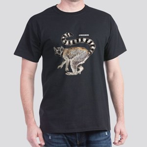 Ring-Tailed Lemur Dark T-Shirt