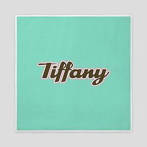 Tiffany Aqua Queen Duvet