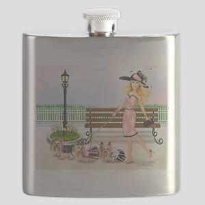 ByCatiaCho Yorkie Derby Flask