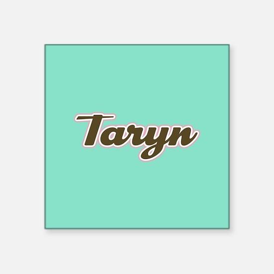 Taryn Aqua Sticker