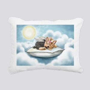 ByCatiaCho Yorkie Tink Rectangular Canvas Pillow