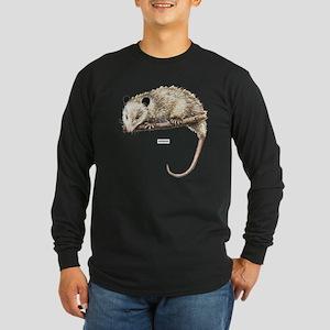 Opossum Animal Long Sleeve Dark T-Shirt
