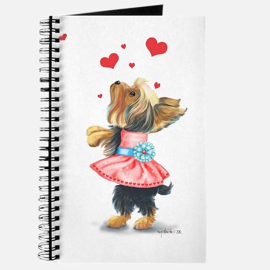 ByCatiaCho Yorkie Love Journal