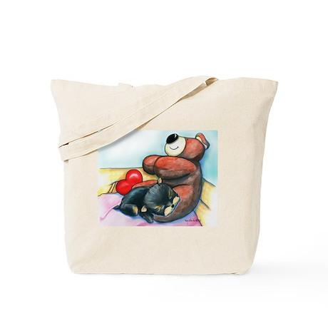 ByCatiaChoYorkie Friend Tote Bag