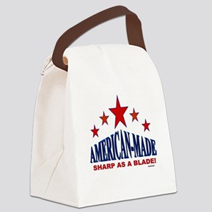 American-Made Sharp As A Blade Canvas Lunch Bag