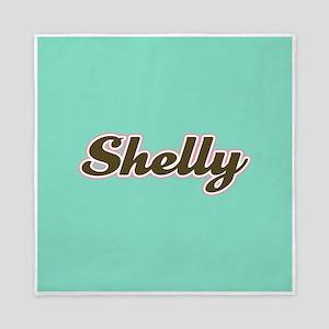 Shelly Aqua Queen Duvet