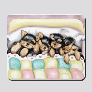 ByCatiaCho Sleeping Babies Mousepad