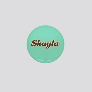 Shayla Aqua Mini Button