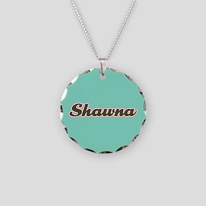 Shawna Aqua Necklace