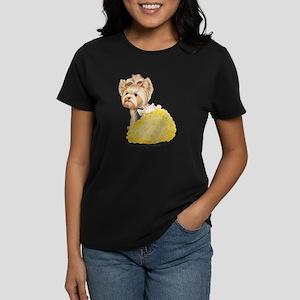 ByCatiaCho Yorkie Millie Women's Dark T-Shirt
