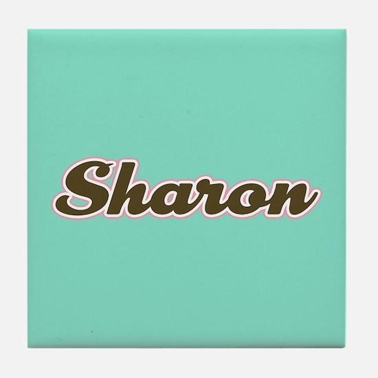 Sharon Aqua Tile Coaster