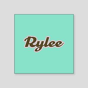 Rylee Aqua Sticker