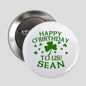 "Personalized for Sean 2.25"" Button"