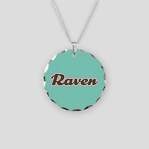 Raven Aqua Necklace