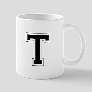 Collegiate Monogram T Mug