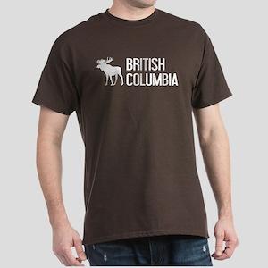 British Columbia Moose Dark T-Shirt