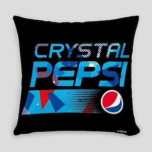 Crystal Pepsi Everyday Pillow