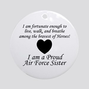 AF Sister Fortunate Ornament (Round)