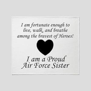 AF Sister Fortunate Throw Blanket