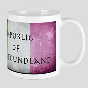 Republic of Newfoundland Flag Small Mugs