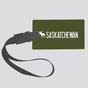 Saskatchewan Moose Large Luggage Tag