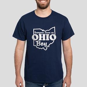 Everyone Loves an Ohio Boy Dark T-Shirt