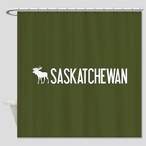 Saskatchewan Moose Shower Curtain