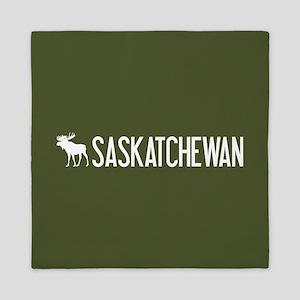 Saskatchewan Moose Queen Duvet