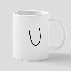 Elementary Monogram U Mug