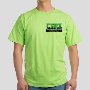 Double LOGO CERT Green T-Shirt