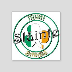 """Irish Badass Square Sticker 3"""" x 3"""""""