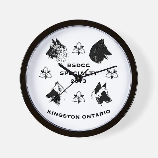 specialty logo Wall Clock