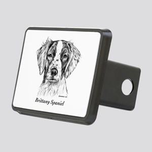 Brittany Spaniel Rectangular Hitch Cover