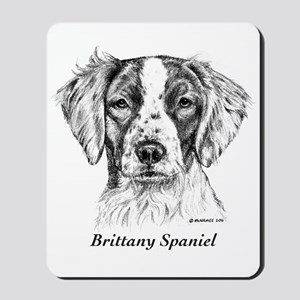 Brittany Spaniel Mousepad
