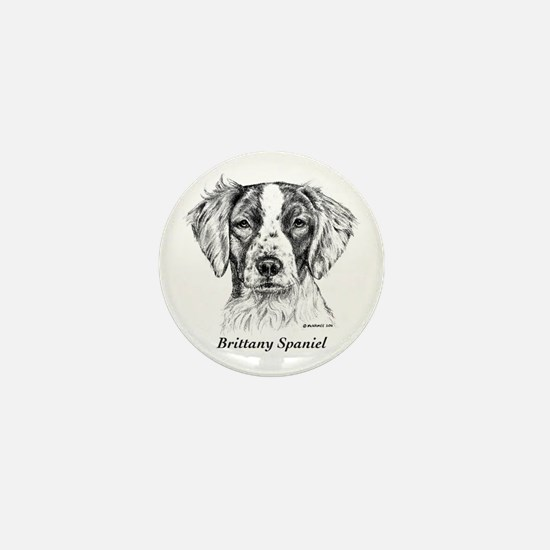 Brittany Spaniel Mini Button (10 pack)