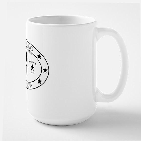 Armed Thinker Large Mug