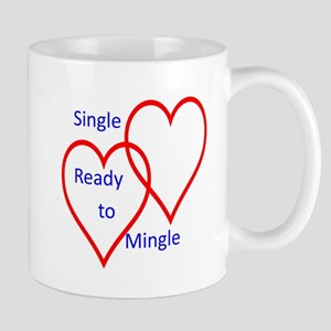 Single ready to mingle Mug