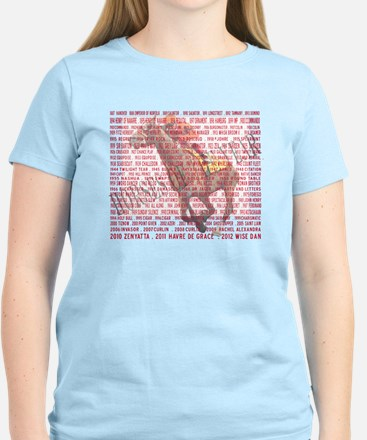 Horses of the Year 1887-2012 T-Shirt
