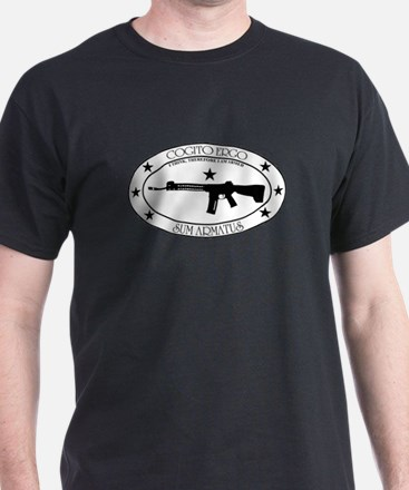 I Think, Therefore I Am Armed T-Shirt