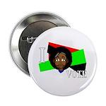 I vote (red, black & green) Button