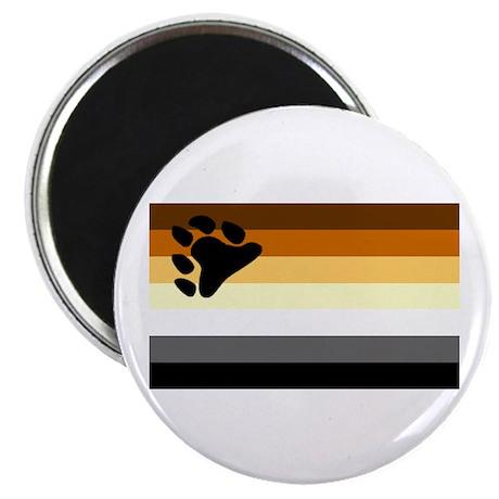 Bear Paw Flag Magnet