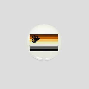 Bear Paw Flag Mini Button
