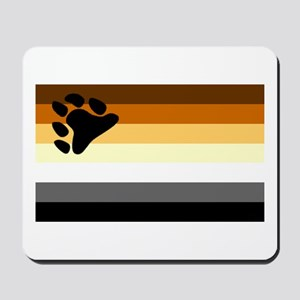 Bear Paw Flag Mousepad