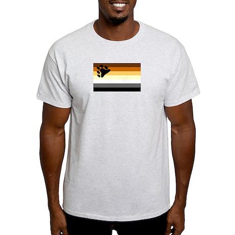 Bear Paw Flag Ash Grey T-Shirt
