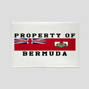 Property Of Bermuda Rectangle Magnet
