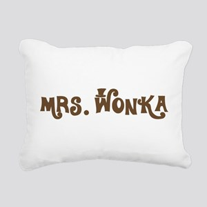 Mrs. Wonka Rectangular Canvas Pillow