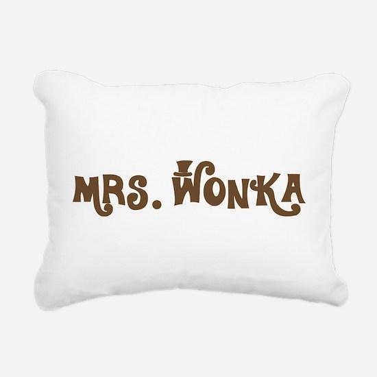 Mrs. Wonka Rectangular Canvas Pillow