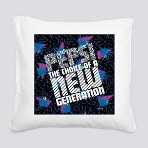 New Generation Square Canvas Pillow